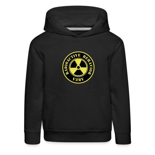 Radioactive Behavior - Sudadera con capucha premium niño