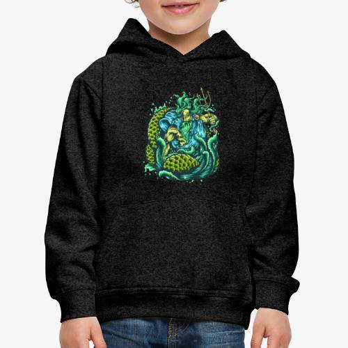 Gott des Meeres - Kinder Premium Hoodie