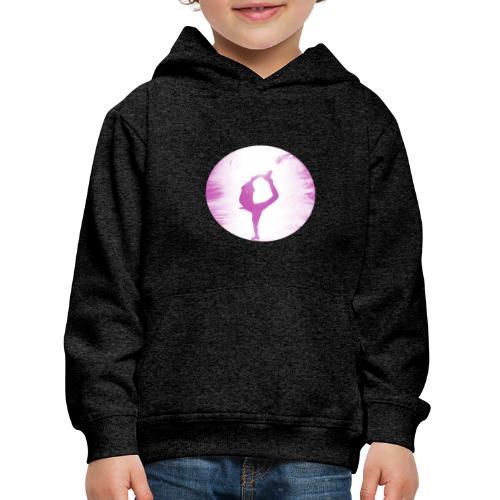 rosa Skater - Kinder Premium Hoodie