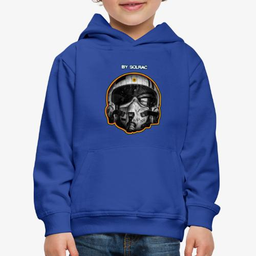 SOLRAC Pilot Air Force - Sudadera con capucha premium niño
