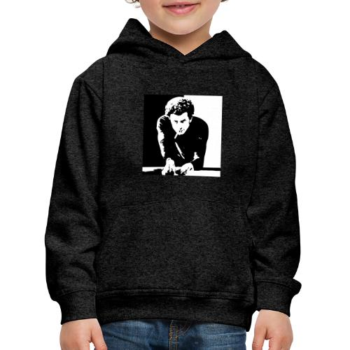 arte del biliardo bianco e nero roma - Felpa con cappuccio Premium per bambini