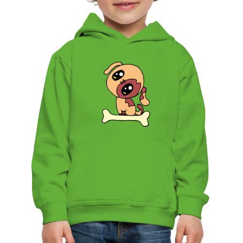Kawaii le chien mignon - Pull à capuche Premium Enfant