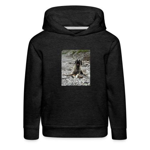 Hoodie Kangal im Flußbett - Kinder Premium Hoodie