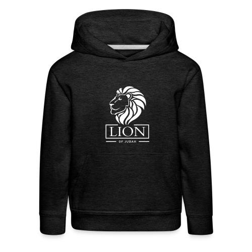 Lion of Judah - Rastafari - Kinder Premium Hoodie