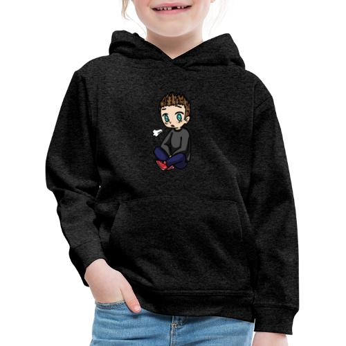 chibi M@tis - Bluza dziecięca z kapturem Premium