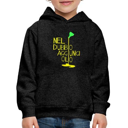 Olio - Felpa con cappuccio Premium per bambini