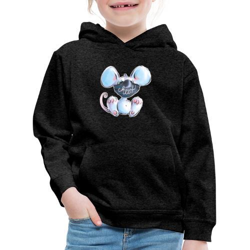 Maskenmaus - Kinder Premium Hoodie