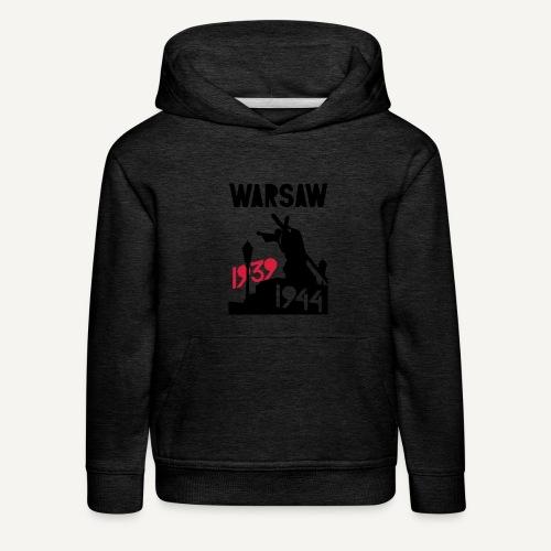 Warsaw 1939-1944 - Bluza dziecięca z kapturem Premium
