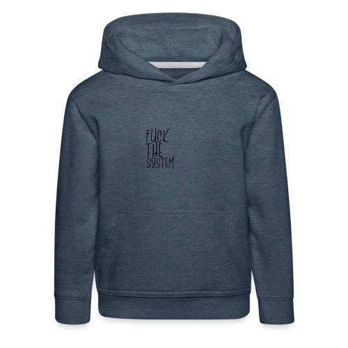 FCK - Bluza dziecięca z kapturem Premium
