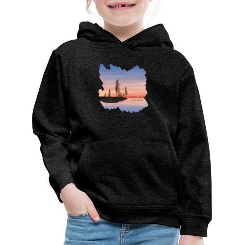 Zomer in Lapland - Pull à capuche Premium Enfant