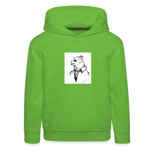 InkedThe Dog style bak LI - Sudadera con capucha premium niño