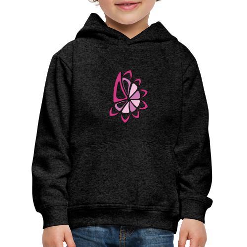 spicchi di sole multicolore rosa - Felpa con cappuccio Premium per bambini