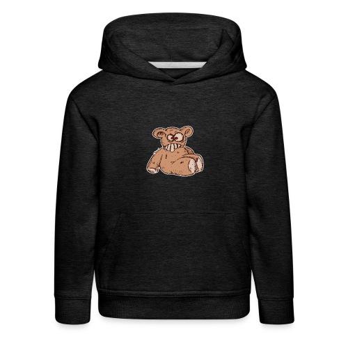 Bad Peluche Crazy Teddy (petit) - Pull à capuche Premium Enfant