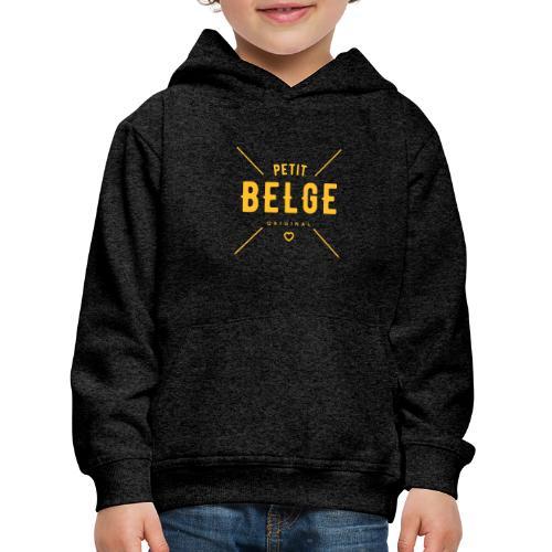 petit belge original - Pull à capuche Premium Enfant