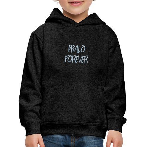 pralo forever bleu - Pull à capuche Premium Enfant