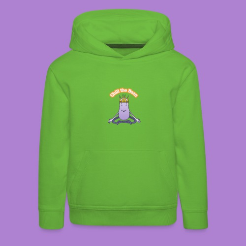 Chill the Bean - Kids' Premium Hoodie