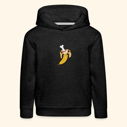 Die zwei Gesichter der Banane - Kinder Premium Hoodie