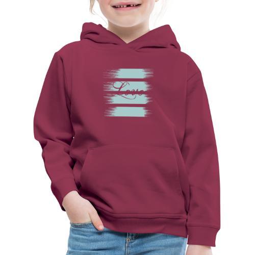 liebe - Kinder Premium Hoodie
