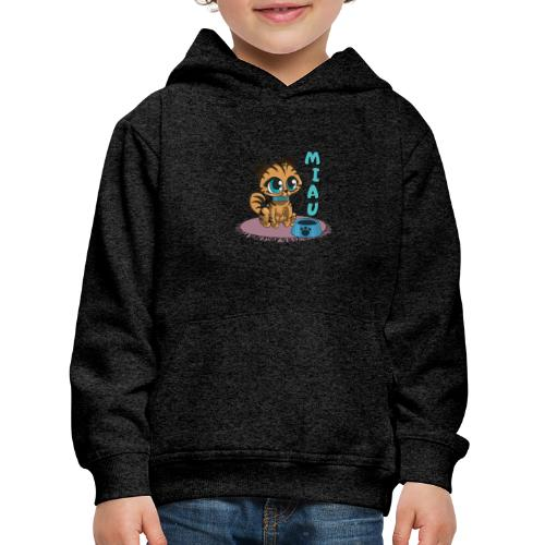 Miau - Kinder Premium Hoodie