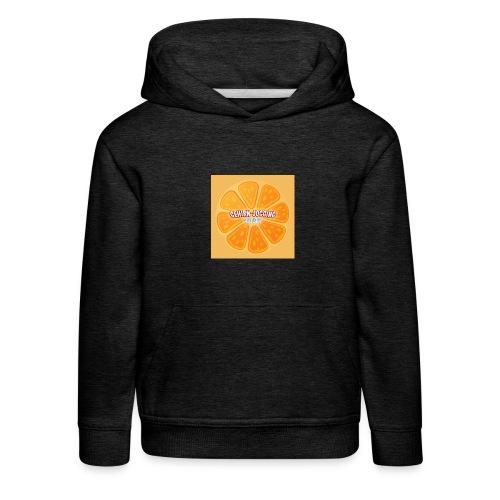 orangetextur - Kinder Premium Hoodie