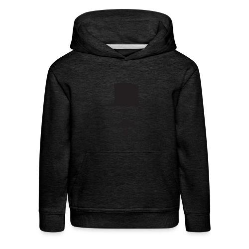 Moustachu Black (H) - Pull à capuche Premium Enfant