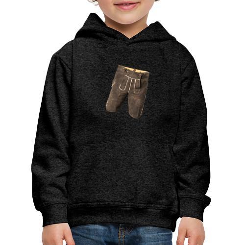 Lederhose - Kinder Premium Hoodie