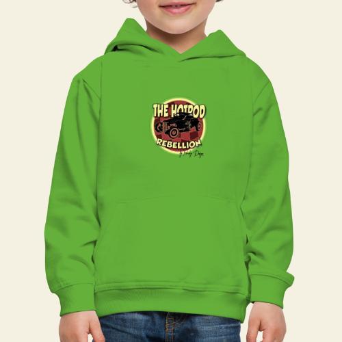 hotrod rebellion - Premium hættetrøje til børn
