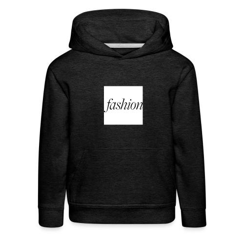 fashion - Kinderen trui Premium met capuchon