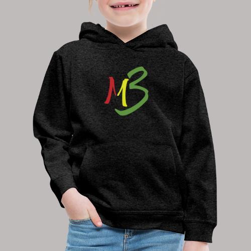 MB13 Logo rasta1 - Kids' Premium Hoodie
