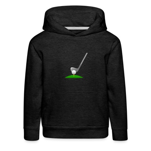 Golf Ball PNG - Sudadera con capucha premium niño