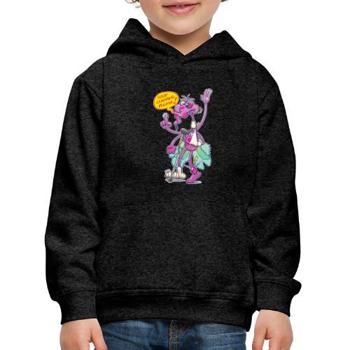 Moustique supplie de stopper les applaudissements - Kids' Premium Hoodie