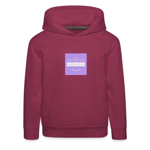 logo - Kinder Premium Hoodie