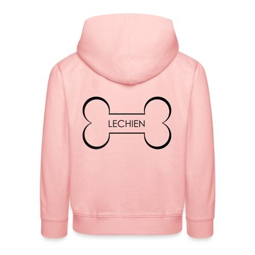 LeChien - Felpa con cappuccio Premium per bambini