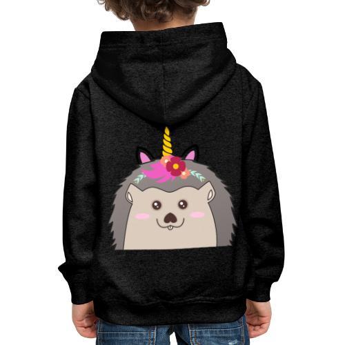 Einhorn-Hed - Kinder Premium Hoodie