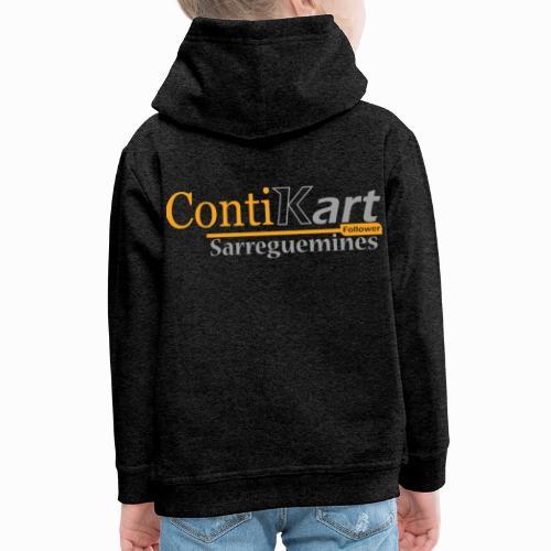 ContiKart Follower - Pull à capuche Premium Enfant