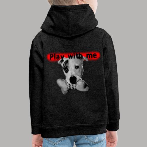 Nice Dog - Pull à capuche Premium Enfant