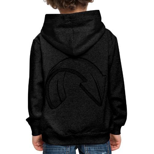 Arrow below - Kinder Premium Hoodie