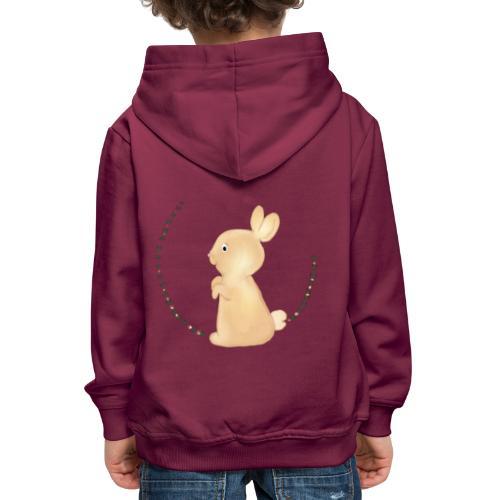 Häschen - Kinder Premium Hoodie