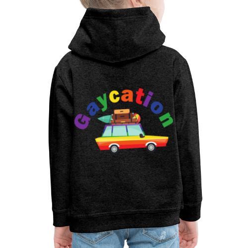 Gaycation | LGBT | Pride - Kinder Premium Hoodie