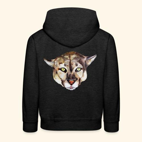 Artistic wild animal - Kids' Premium Hoodie