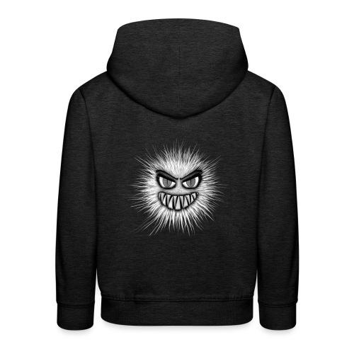 T-shirt - Monstre particule - Pull à capuche Premium Enfant