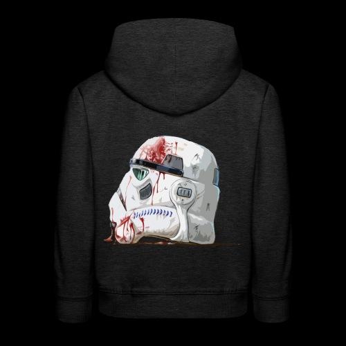 Fallen Stormtrooper - Kids' Premium Hoodie