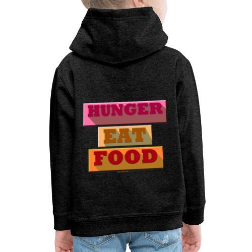 Hunger TShirt - Pull à capuche Premium Enfant