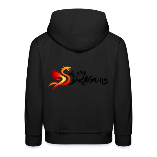 Slay Dragons - vankityrmät Dragons - Lasten premium huppari