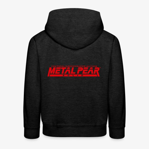 Metal Pear Solid: Tactical Greengrocer Action - Kids' Premium Hoodie