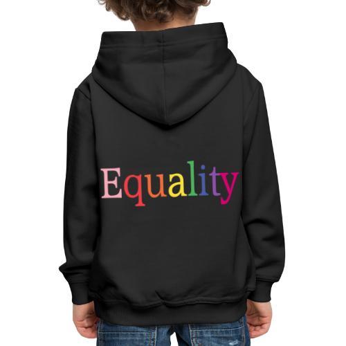 Equality   Regenbogen   LGBT   Proud - Kinder Premium Hoodie