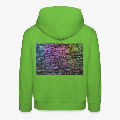 Regenbogenwand - Kinder Premium Hoodie