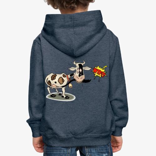 Vaquita - Sudadera con capucha premium niño