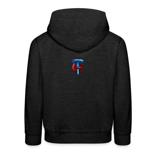 tg logo png - Kids' Premium Hoodie