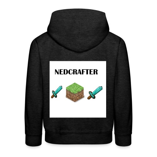 NedCrafter Logo - Kinder Premium Hoodie